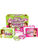 Bride To Be Flip Sip Truth Or Dare Game