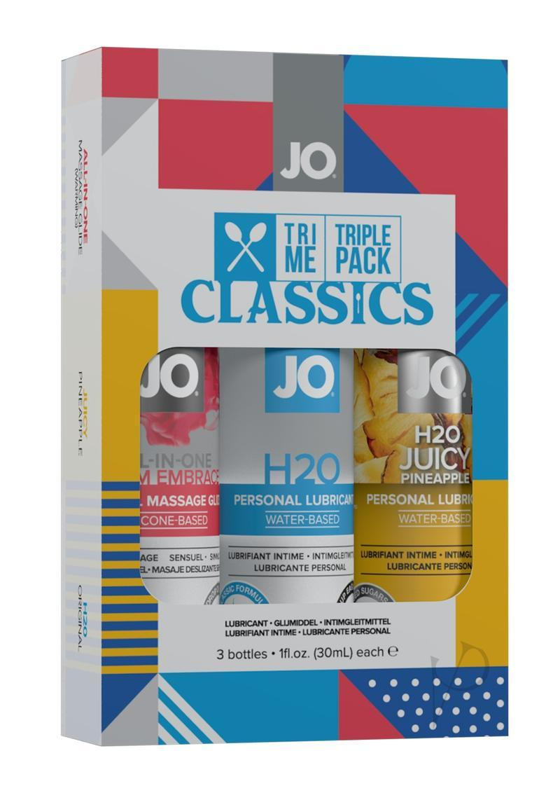Jo Tri Me Triple Pack Classics 3 Each 1 Ounce Bottles Original,warming And Pineapple