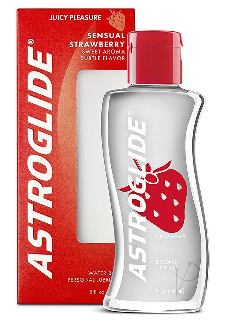 Astroglide Sensual Strawberry Water Based Personal Lubricant 5 Oz.